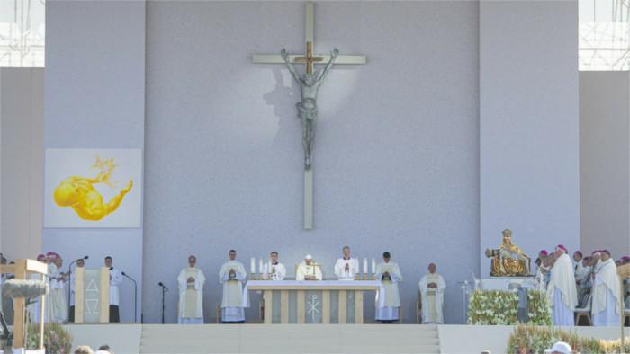 La visita del Papa Francisco en Šaštín