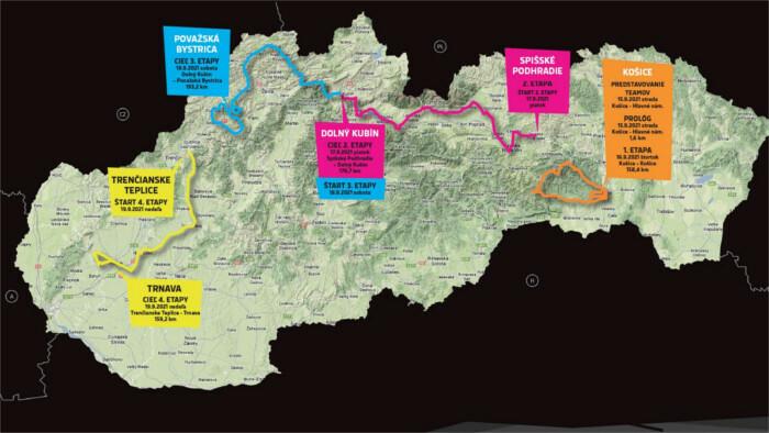 Peter Sagan en la Vuelta Ciclista a Eslovaquia 2021