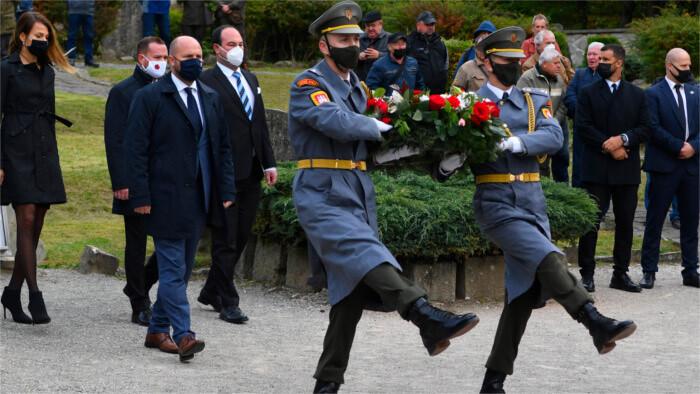 Commémoration de la bataille dite des Carpates et de Dukla