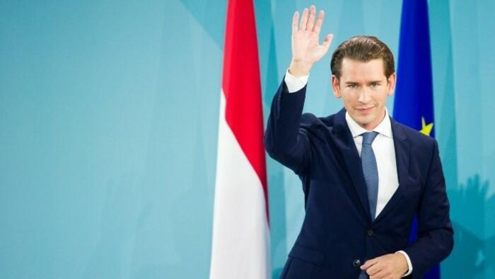 A hétvégén lemondott Sebastian Kurz osztrák kancellár