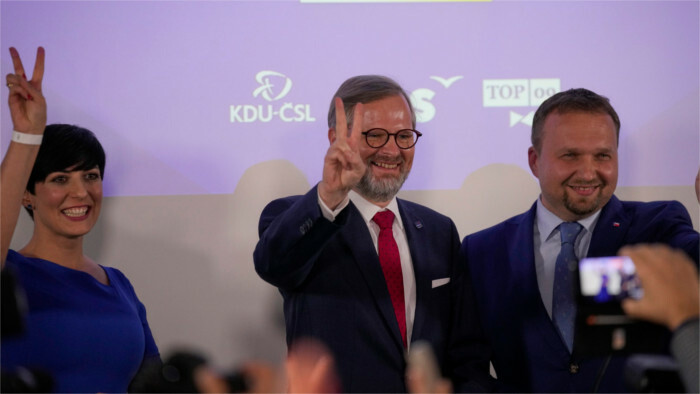 Президент СР пожелала Чехии неконфликтного формирования правящей коалиции