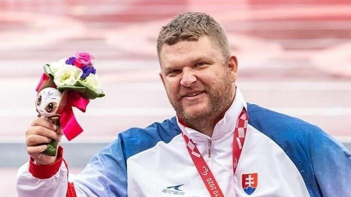 Bronzový paralympionik Marian Kuřeja