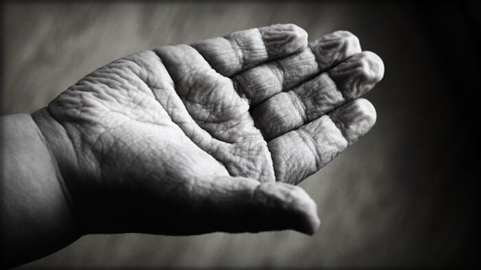 Zamyslenie / Starnutie