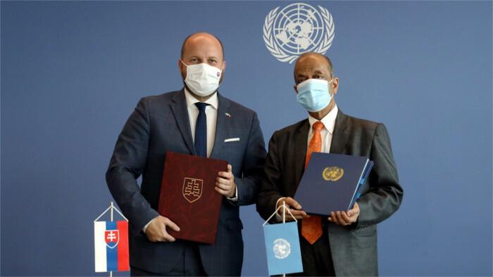 SR a OSN uzavreli memorandá