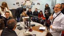 Radio day : le lycée Camille Jullian visite Radio Slovaquie Internationale