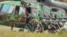 V Lešti sa koná vojenské cvičenie