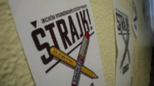 K veci: Vysokoškolskí učitelia prebrali štrajkový štafetový kolík od zástupcov Iniciatívy slovenských učiteľov...