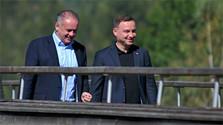 Andrej Kiska ha viajado de visita a Polonia