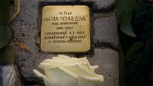 Der erste Stolperstein für Piešťany