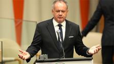 President Kiska talks migration at UN General Assembly