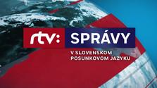 Správy RTVS v slovenskom posunkovom jazyku