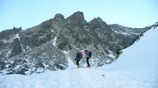 Na lyžiach na Svišťový štít