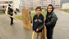 « Une vie heureuse » pour les petits rom de Lunik  IX