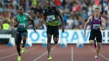 Ján Volko raced with Usain Bolt in Ostrava