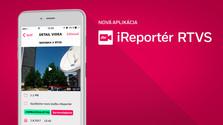 Predstavujeme novú aplikáciu iReportér RTVS