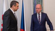 Спикер парламента А.Данко в Праге