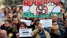 Szlovákiai magyar értelmiségiek a Horthy-emlékmű ellen