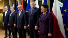 Le V4 et Juncker ont parlé des sujets qui fâchent