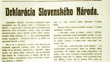 100-летие Мартинской декларации