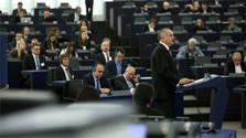 Staatsoberhaupt sprach im Europaparlament