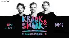 Rádio_FM oslávi 13. narodeniny  koncertom electro-funkovej kapely Kraak & Smaak