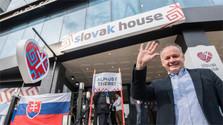 Kiska inaugura la Casa Eslovaca en Pyeongchang