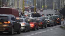 Problémy s dopravou v Senci