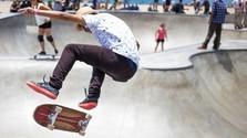 Skateboardista Richard Tury
