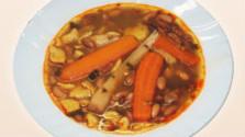 Fazuľová polievka z Veľkého Klíža