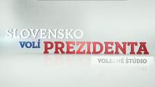 Slovensko volí prezidenta - volebné štúdio