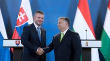 Le premier ministre du gouvernement slovaque P. Pellegrini à Budapest