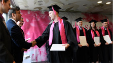 Erste Absolventen der dualen Berufsbildung in Košice