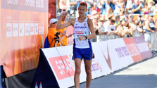Matej Toth holt in Berlin Silber im 50-Kilometer-Gehen