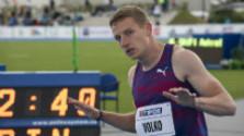 Volko po semifinále na 200 m