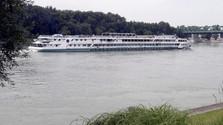 Transporte fluvial en el Danubio amenazado por el bajo nivel de las aguas