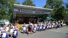 Blíži sa folklórny festival Mravenec