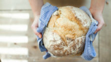 Tekvicový kváskový chlieb