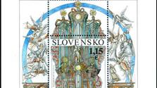 M. Činovský je autorom prvej príležitostnej poštovej známky SR
