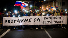 Protests For a decent Slovakia about Gorilla