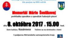 Memoriál Márie Švolíkovej už túto nedeľu