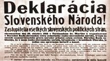 100 años de la declaración de Martin o Martinská deklarácia