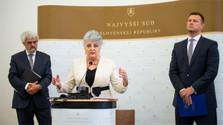 Las Cortes Supremas de Chequia y Eslovaquia resaltan su estrecha cooperación