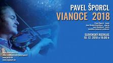 Koncert: Pavel Šporcl – VIANOCE 2018