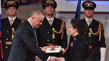 Prezident republiky ocenil významné osobnosti štátnymi vyznamenaniami