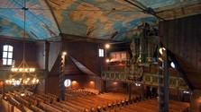 Деревянный артикулярный костел в Кежмарке