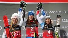 Petra Vlhová gana el oro en el eslalon gigante paralelo en la Copa mundial de Oslo