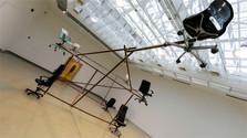 Zwischen Bürosessel-Sternbild und singendem Teppich in der Kunsthalle