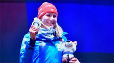 Kuzmina gana otra carrera de la Copa del Mundo