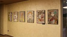 Anna Sovany expone su obra en Bratislava