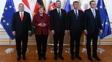В Братиславе прошел Саммит В4 и Германии